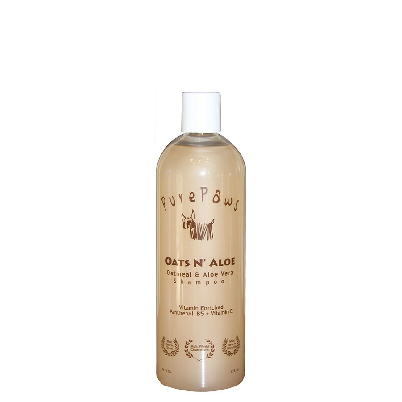 Pure Paws Oats N' Aloe shampoo 473ml