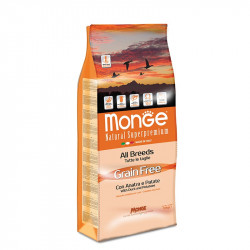 Monge All breed Grain Free - Duck 12kg
