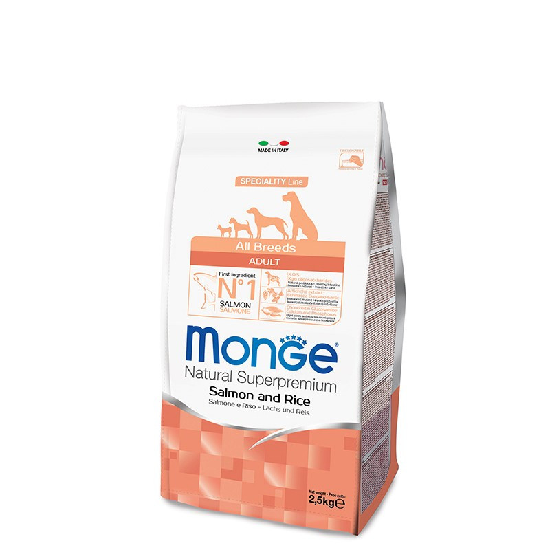 Monge All breed Adult - Losos 2,5kg