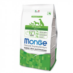 Monge All breed Adult - Rabbit 15kg