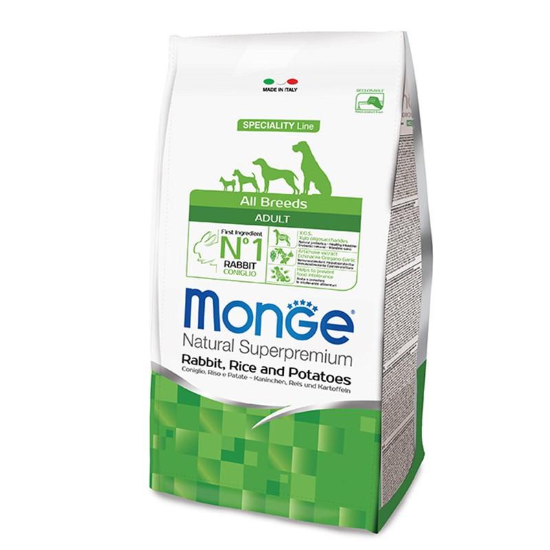 Monge All breed Adult - Zajec 15kg