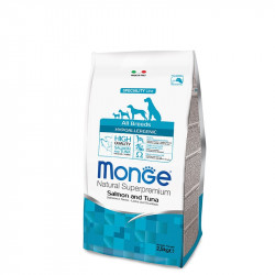 Monge All breed Adult Hypoallergenic - Losos&Tuna 2,5kg
