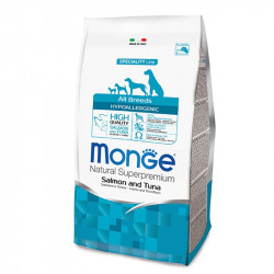 Monge All breed Adult Hypoallergenic - Salmon&Tuna 15kg