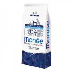 Monge Medium Puppy&Junior - Chicken 15kg