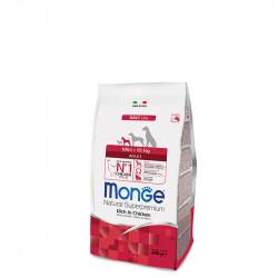Monge Mini Adult - Piščanec 800g