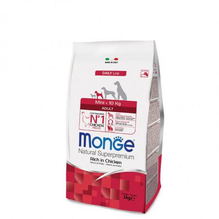 Monge Mini Adult - Piščanec 3kg