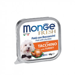 Monge Fresh Pate - Turkey 100g