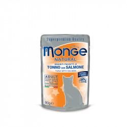 Monge Tuna&losos – 80g