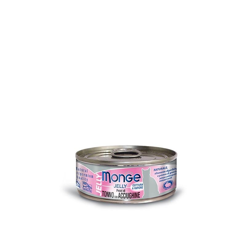 Monge Jelly Tuna&inčuni – 80g