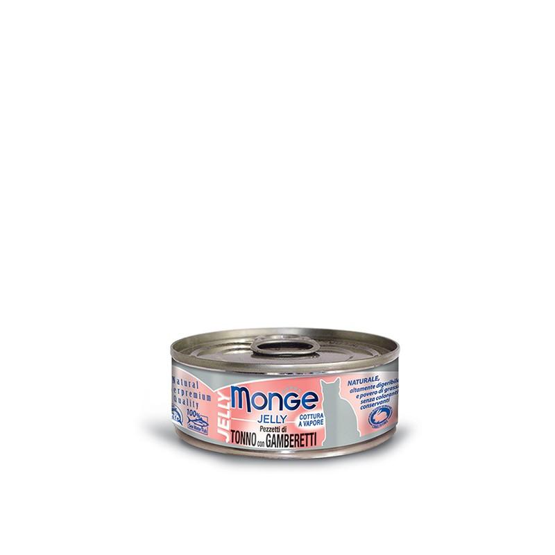 Monge Jelly Tuna&rakci – 80g
