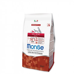 Monge Mini Adult - Jagnjetina 2,5kg