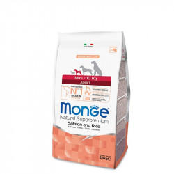 Monge Small breed Adult - Salmon 2,5kg