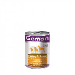 Gemon puppy/junior Chunks with Chicken&Turkey - 415g