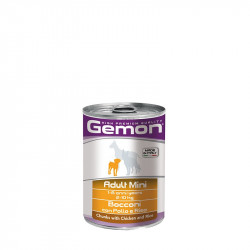 Gemon mini adult Chunks with Chicken - 415g