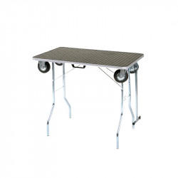 Table with wheels (100 x 60 x 77)