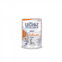 LeCHAT excellence adult chunkies salmon 100g