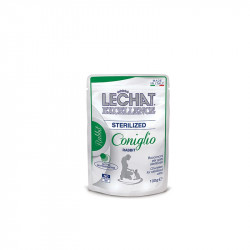 LeCHAT excellence Neutered chunkies zajec 100g