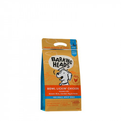 Barking Heads Small breed Bowl Lickin Chicken 1,5kg