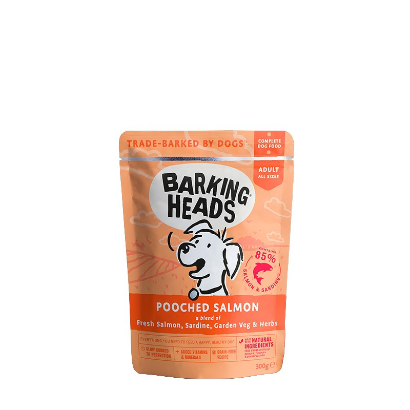 Barking Heads Pooched Salmon 300g