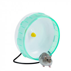 Plastic hamster wheel