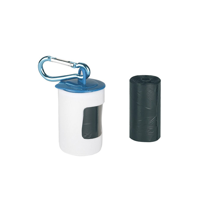 Poo bags with holder