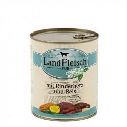 LandFleisch PUR - Goveje srce, riž 400g