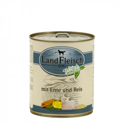 LandFleisch DOG - Duck, rice 800g