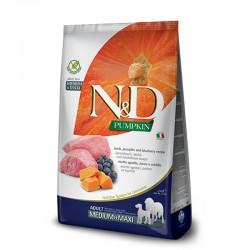 N&D Pumpkin Lamb adult medium&maxi 2,5kg