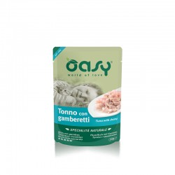 OASY cat NATURAL POUCH Tuna with Shrimp 70g