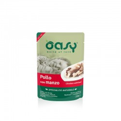 OASY cat NATURAL POUCH Chicken with Beef 70g