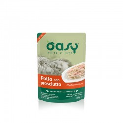 OASY cat NATURAL POUCH Chicken with Ham 70g