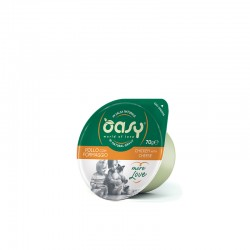 OASY cat ML Chicken with Cheese 70g