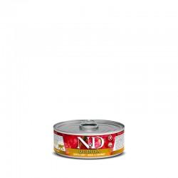 N&D cat wet Quinoa Skin Quail 80g