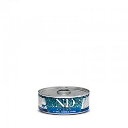 N&D cat wet Ocean Sea Bass & Sardine 80g