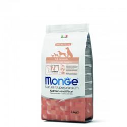 Monge All breed Puppy&Junior - Losos 2,5kg