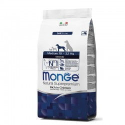 Monge Medium Senior - piščanec 12kg